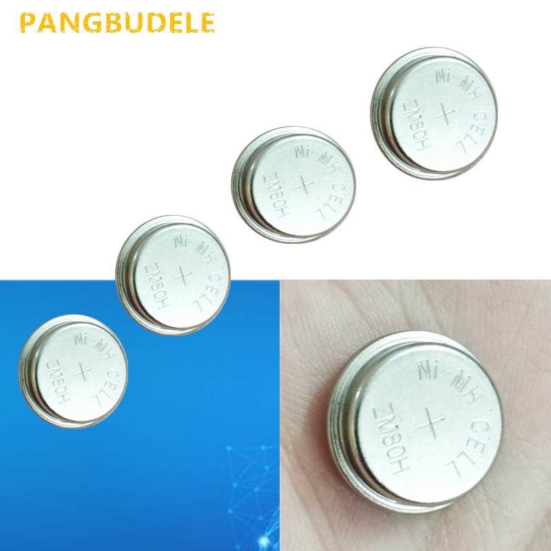 New! 4pcs/lot LIR1654 ZM80H 1.2V Li-on Rechargeable Button Coin Cell Battery Can Replace CR1654 for watches serveware