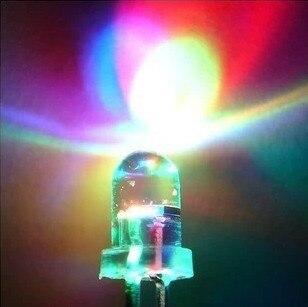 5MM LED Light-Emitting Diodes Quick Flashing Colorful Light Highlighted Luminous Tube