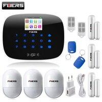 Best G19 приложение управления SMS вызова gsm сигнализация комплект двери/окно датчик дыма извещатель ip камера охранной сигнализации