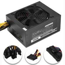 2000W Modular Mining Power Supply PSU for 8 GPU Eth Rig Ethereum Bitcoin Litecoin Miner XXM8