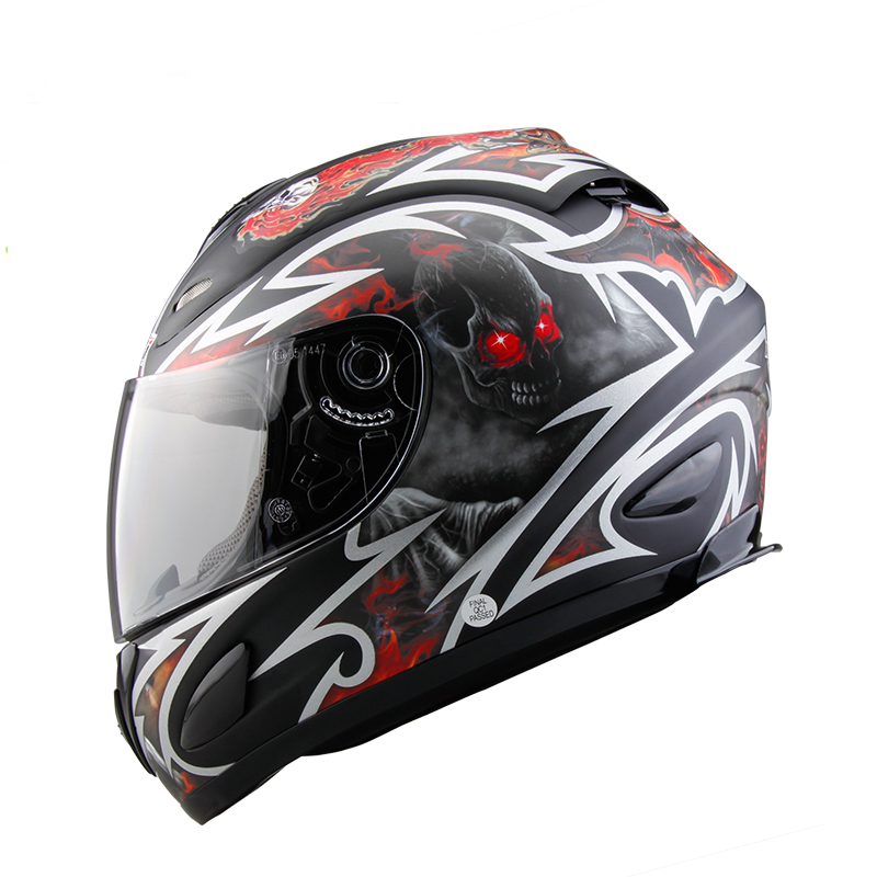 Motorcycle Helmet Motorcross Outdoor Riding Helmet Full Face EPR Lining DOT Motorcycle Protectc Gears Casco Capacetes Full Face