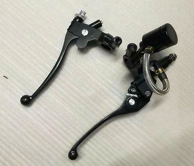 Universal 7/8 22mm Handlebar Brake Clutch Master Cylinder Levers For Honda Yamaha Kawasaki Suzuki Chopper Bobber Cafe Racer ATV