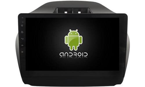 Navirider octa Core Android 8.0 lecteur radio de voiture 1080 P enregistreur DVD pour HYUNDAI IX35 TUCSON low carplay construit en TDA7851 Amp