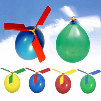 1pc Latex Aircraft Helicopter Balloons Toys For Kids Birthday Gifts Party Supplies Environmental Protection Material Production 2