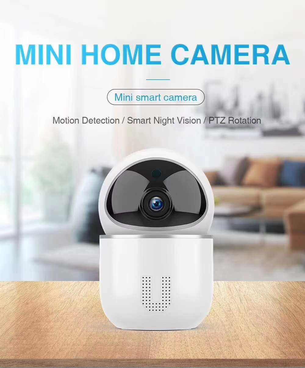 2MP 1080P Motion Detection PTZ Rotation Wireless Intercom IP  Camera2MP 1080P Motion Detection PTZ Rotation Wireless Intercom IP  Camera