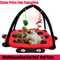 Gato Del animal doméstico Cama Juguetes Actividad Móvil Cama de Juego Juguetes Cat Bed Pad Manta Mascota Muebles Tienda de Juguetes Para Gatos