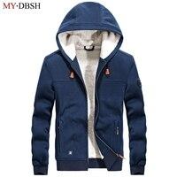 2017 High Quality Winter Brand Hoodies Mens Cotton Thick Warm Hoodie Male Fashion Fleece Hoody Men