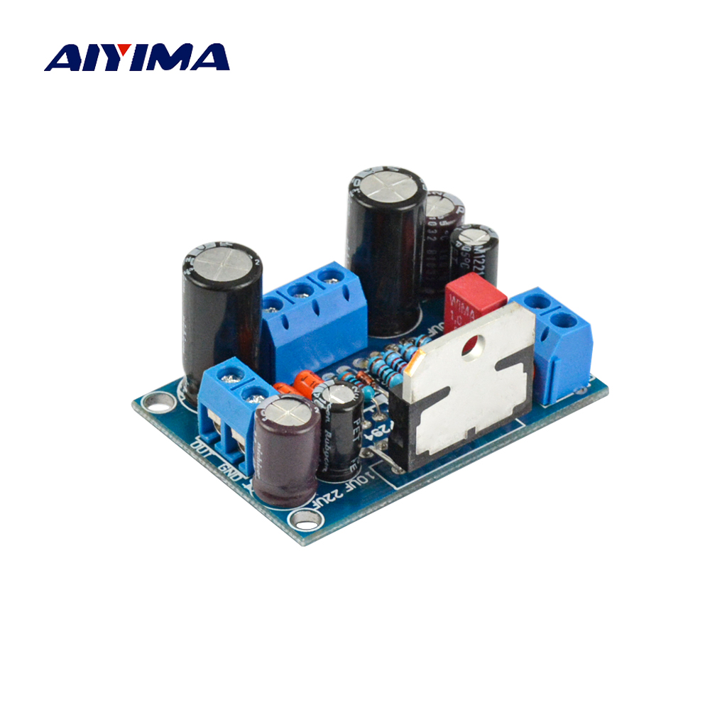 Aiyima Audio Amplifier Board 85W TDA7294 Mono Amplifier Board BTL Amp Assembled Board потребительская электроника oem mono power amplifier 2 tda7294 80w mono power amplifier tda7294
