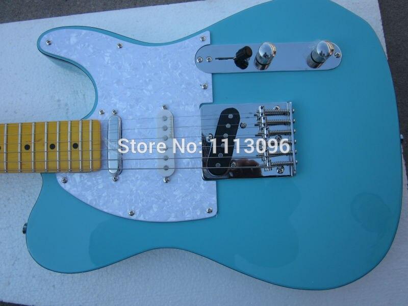 Électrique guitare livraison NOUVELLE guitare tl guitare vert couleur oem avec 3 micros tl guitares