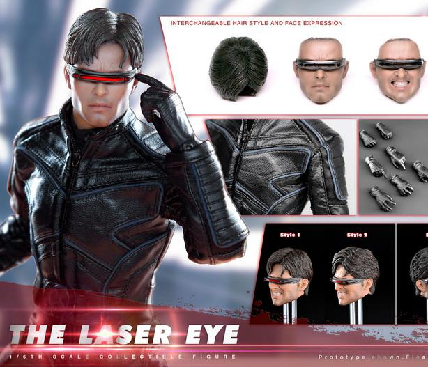 1/6 scale figure doll X-Men Laser Eye with 2 heads 12 action figures doll Collectible model toy soldiers landscape with figures givernyрепродукции моне 30 x 30см