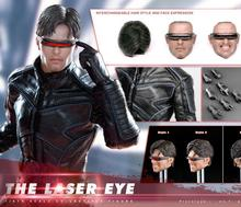1/6 scale figure doll X-Men Laser Eye with 2 heads 12″ action figures doll Collectible model toy soldiers