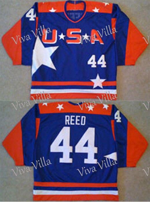 44 Fulton Reed Jersey Mighty Ducks Jersey 21 Dean Portman Genäht Männer Film Hockey Jerseys S-3XL Freies Verschiffen