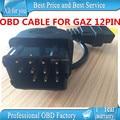ГАЗ 12 Pin 12Pin Мужчин OBD OBD2 OBDII DLC 16 Pin 16Pin Женский Автомобиля Диагностический Инструмент Адаптер Конвертер Кабеля