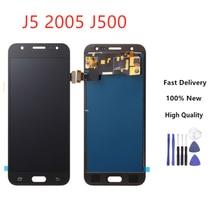 LCD for SAMSUNG Galaxy J5 2015 J500 LCD Display J500H J500FN J500F J500M SM-J500F Touch Screen Digitizer Black Color
