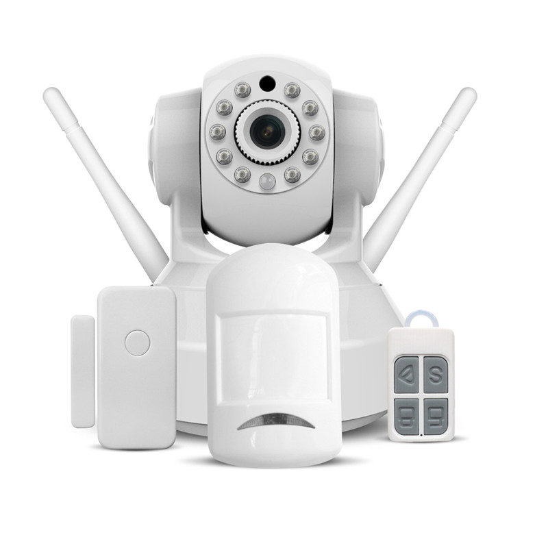 HD IP Camera Wifi Wireless Home Security Camera Surveillance Camera Two Way Audio Infrared Add Door/PIR Sensor CCTV Alarm System sacam home security surveillance day night wifi ip camera hd 720p wireless webcam cctv cameras two way audio wide angle