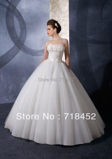 Aliexpress.com : Buy 2013 Designer Wedding Dresses A line Bridal ...