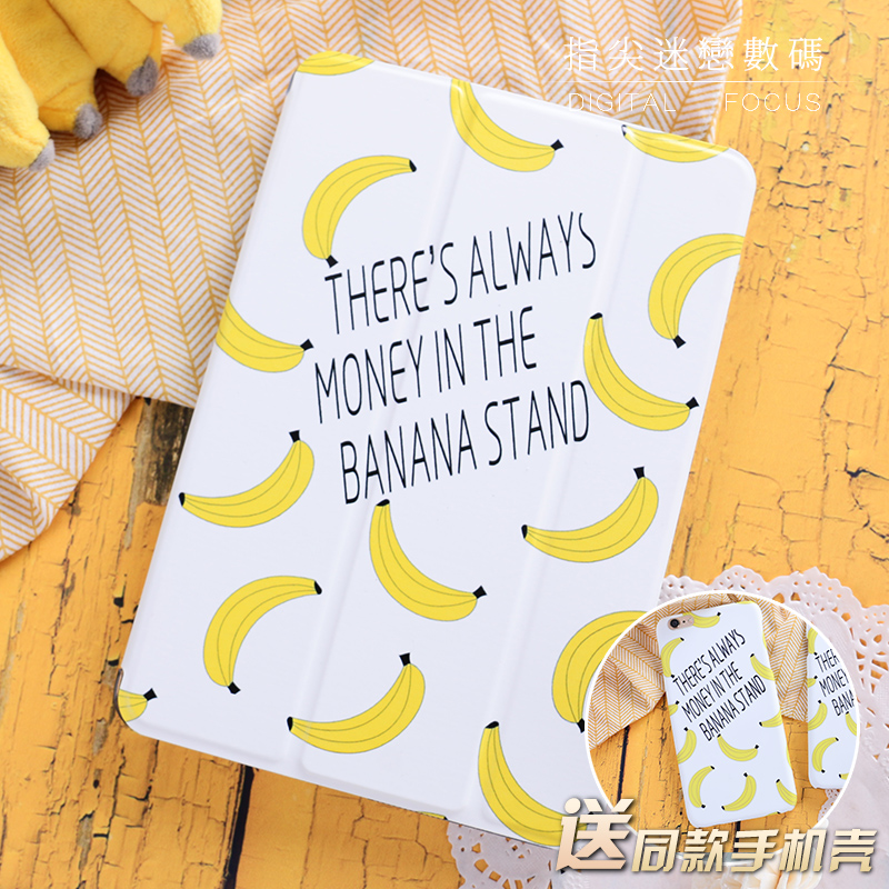 Literay banana Flip Cover For iPad Pro 9.7 10.5 Air Air2 Mini 1 2 3 4 Tablet Case Protective Shell For New iPad 9.7 2017 A1822 for new ipad 9 7 2017 visual acuity chart flip cover for ipad pro 9 7 10 5 air air2 mini 1 2 3 4 tablet case protective shell