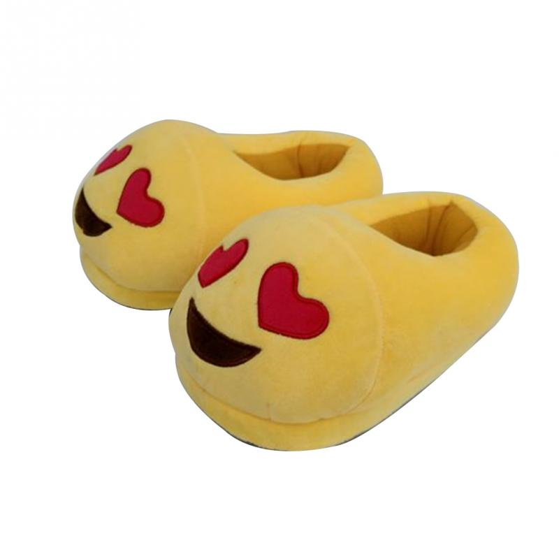 2017 New Home Slippers Women Emoji Soft Cute Cartoon Slippers For Women Winter Warm Plush Indoor Home Shoes Winter Soft Cotton конструктор bondibon грузовик своими руками bb1232