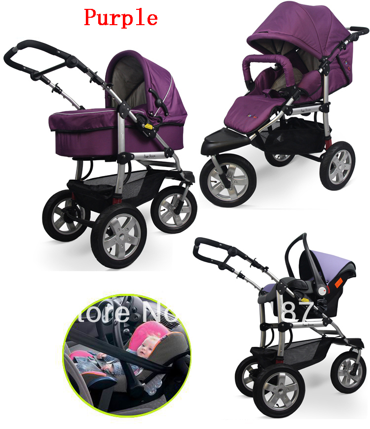 High Quality Baby Boy Strollers With the Car Seat and the Stroller