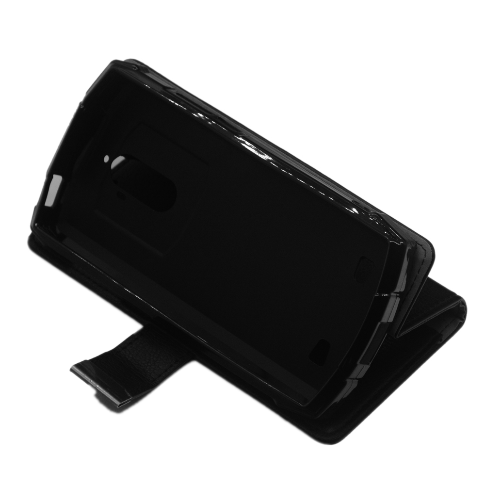 Doogee S55 Case High quality flip leather phone bag cover case for Doogee S55 with Front slide card slot