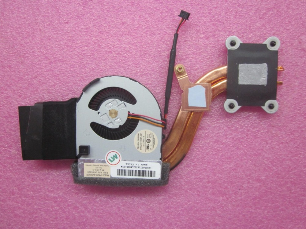 IBM Lenovo ThinkPad X220 X230 Tablet Heat Sink CPU Cooling Fan Assembly