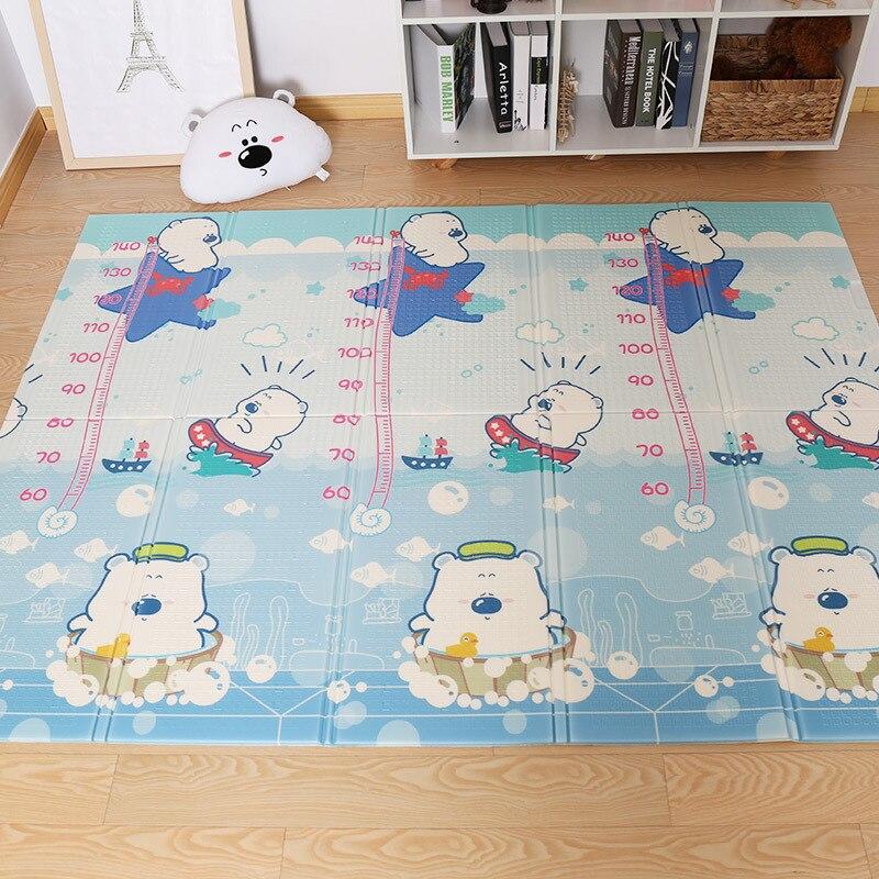 NEEU tapis de jeu bébé Xpe Puzzle tapis pour enfants épaissi petit ours Tapete bébé chambre tapis rampant tapis pliant tapis bébé