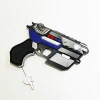New SKin!! Officer D.va Gun For Costume PVC D.va Weapon Cosplay Props For Anime Conventions Hanasong Dva Pistol 25cm