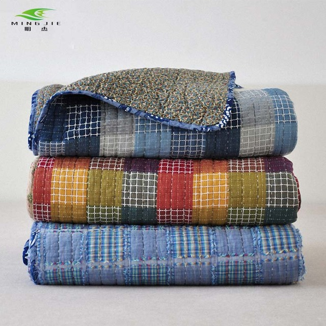 connor bn ebay s b set shams plaid blue hilfiger tommy flannel comforter king nip sets