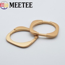 5Pcs Fashion Metal Scarf Buckle Brooches for Women Shorts Skirt Buttons Shawl Decorative Buckles DIY Garment Accessories