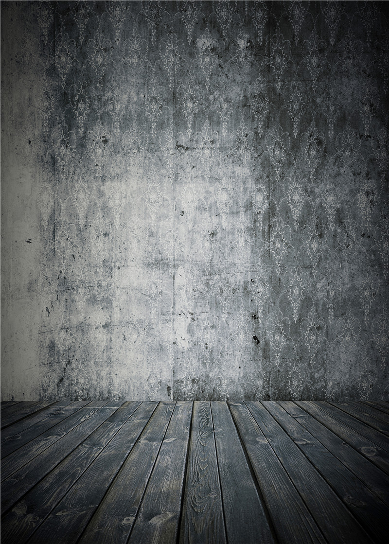 Grey Photography Backdrops Children Vinyl Photo Studio Wooden Floor Baby Background Props 5x7ft or 3x5ft Jieqx018 sjoloon brick wall photo background photography backdrops fond children photo vinyl achtergronden voor photo studio props 8x8ft