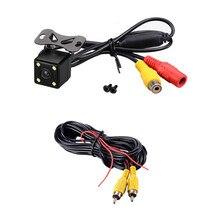 HD Car Rear View Reversa Câmera Traseira de Visão Noturna Monitor de Vídeo À Prova D' Água-Car styling
