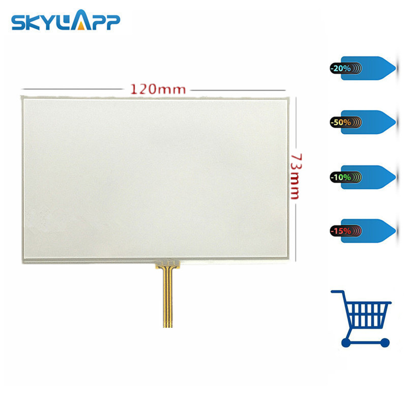 Skylarpu New 5 inch Touch screen for GARMIN Satnav 4nsf 1402-980 GPS digitizer panel replacement Free shipping