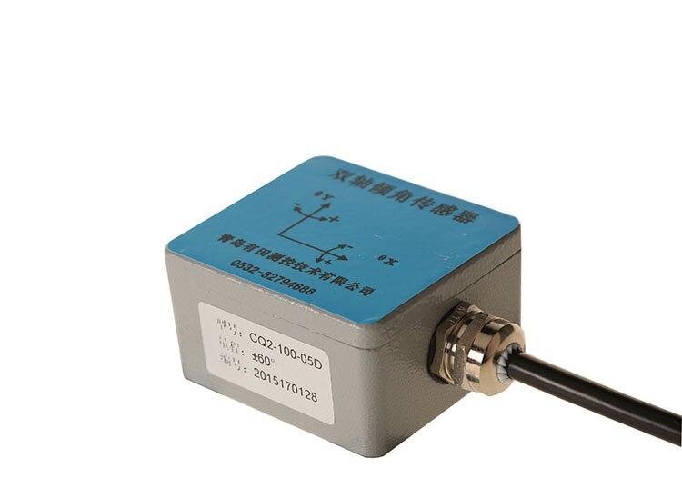 CQ-100 Biaxiale mesure angle d'inclinaison capteur inclinomètre mesure horizontale MOUDBUS Communication RS485/232 Angle d'inclinaison