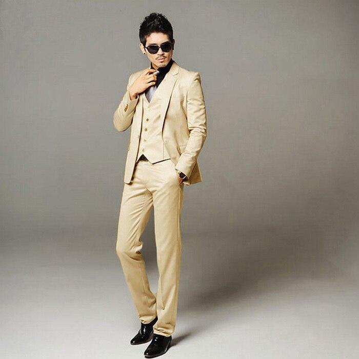 Пиджак + брюки Slim Fit смокинг индивидуального пошива Bridegroon мужские бизнес-платье, пиджак костюмы, модный костюм Блейзер, бесплатная доставка