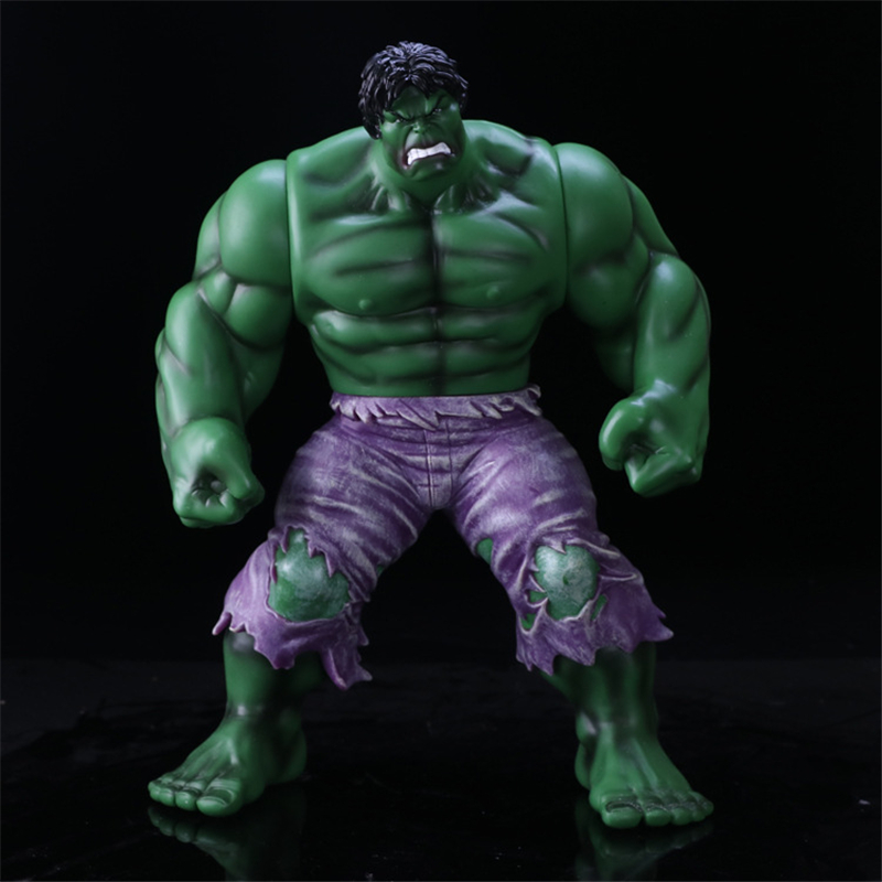 Marvel Super Hero Series Hulk PVC Action Figures Collectible Model Dolls Movable Large Size Anime Figure Kids Toys 35CM 2017 new avengers super hero iron man hulk toys with led light pvc action figure model toys kids halloween gift