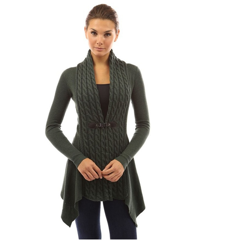 Fashion style Cardigan Long weaving sweaters for girls for lady