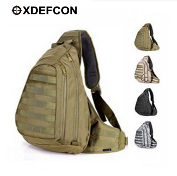 Online Shop Field Tactical Chest Sling Bag Outdoor Sport A4 One ...