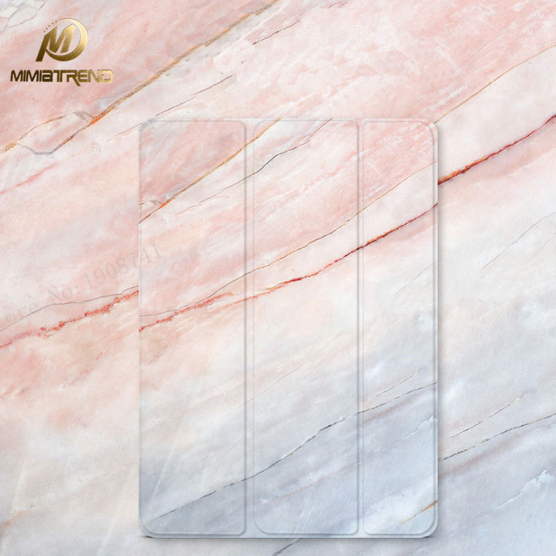 Mimiatrend 2017 Marble Grain PU Case for iPad Pro 9.7 Air Air2 Mini 1 2 3 4 5 Tablet Case Shell + Screen Protector + Phone Case simple blue sky flip cover for ipad pro 9 7 10 5 air air2 mini 1 2 3 4 tablet case protective shell for new ipad 9 7 2017 a1822