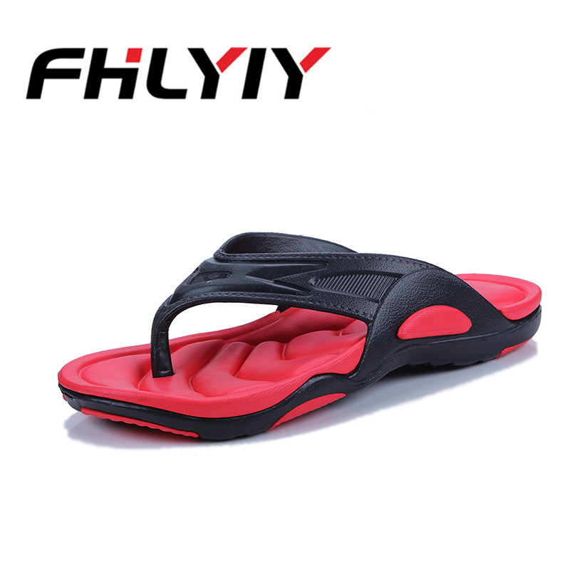 Men's Lightweight Plus Size Flip Flops Fashion Summer Beach Water Shoes Flat Slippers FHLYIY Hot Sale Non-slip Male Casual Shoes leopard cool men beach slippers summer 2017 new fashion soft non slip flip flops shoes outdoor flat casual slippers plus size