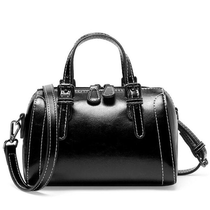 Fashion temperament women handbag Simple Women's bag High-quality Genuine Leather luxurious Shoulder bags Casual Crossbody bag