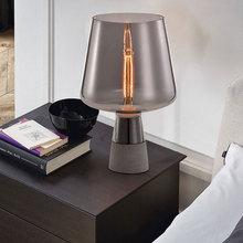 Modern Flexo Luminaria De Mesa Glass Desk Lamp  Study Magnifier Usb Tattoo Led Light Multifunctional Table Living Room Reading