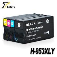 For HP 953XL 953 BK/C/M/Y Full Ink Cartridge For HP OfficeJet Pro 8210 8218 8719 8720 8728 8730 8740 8710 P55250dw Printer