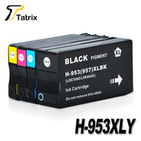 For HP 953XL 953 BK C M Y Full Ink Cartridge For HP OfficeJet Pro 8210
