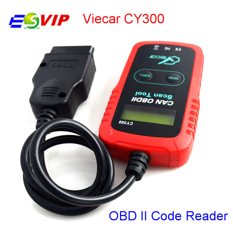 5pcs/ Viecar CY300 OBD Car Diagnositic Tools OBD II Scanner Code Reader for Cars free shipping ...