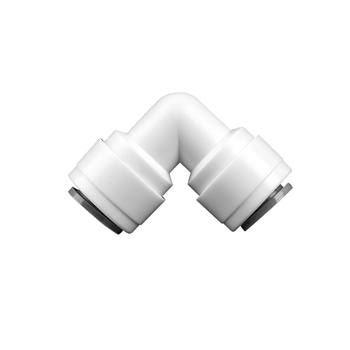 цена на 3/8 - 3/8 OD Tube PE Pipe Fitting Hose Elbow Quick Connector Aquarium RO Water Filter Reverse Osmosis System