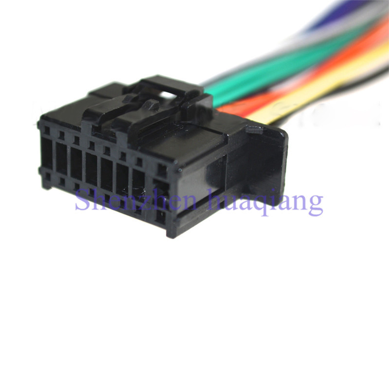 Car ISO Harness Stereo Wire Adapter Wiring Connector Cable for Pioneer 2350 car iso harness stereo wire adapter wiring connector cable for Pioneer Wiring Harness Color Code at crackthecode.co