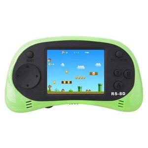 Image 3 - RS 8D 2.5 lcd الاطفال ريترو يده ألعاب لاعب والتلفزيون لعبة فيديو المدمج في 260 ألعاب المدرسة القديمة المحمولة ممر الألعاب