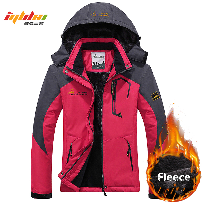 Women's Winter Inner Fleece Jacket Women Outwear Sportswear Warm Coats Down   Parkas   Waterproof Windbreaker Thermal Jackets M-3XL