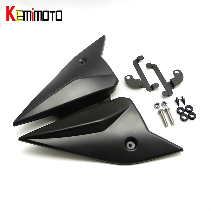 KEMiMOTO MT-09 FZ-09 MT09 MT 09 2017 Side Panels Cover Fairing Cowling Plate Covers For Yamaha MT-09 FZ 09 2014 2015 2016 2017 хайлайтер essence strobing highlighter stick 20 цвет 20 glow up your life variant hex name eddcc9