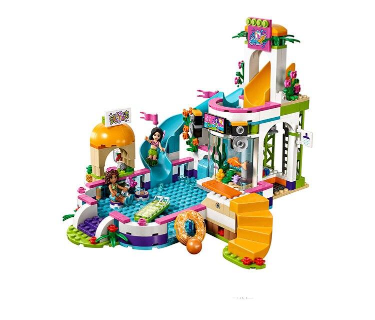 Cx Kompatybilne Z Lego Friends 41313 01013 589 Sztuk Klocki The